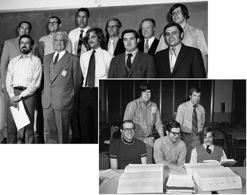Figure 13: Some of the People Involved
