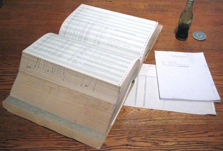 Figure 4: Listing of LM Computer Program LUMINARY 131